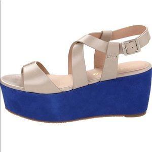 Pour La Victoire Noele Platform Wedge Sandals